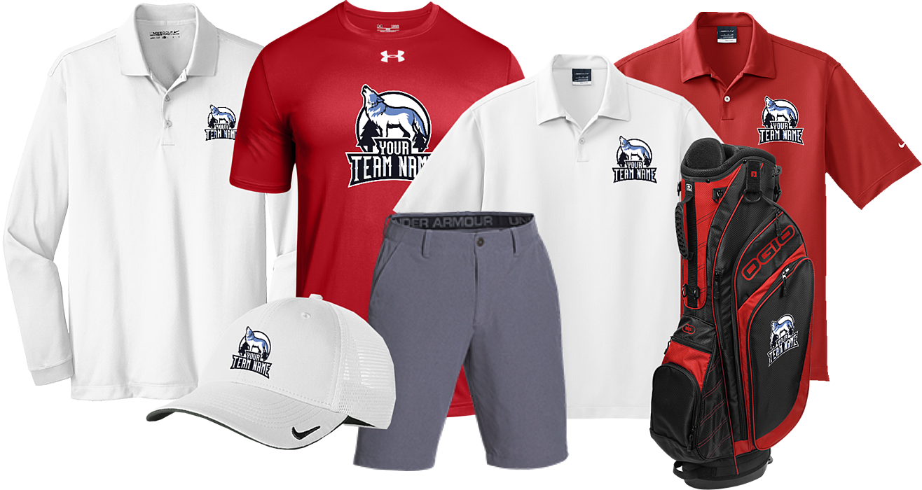 Get Great Custom Golf Team Gear
